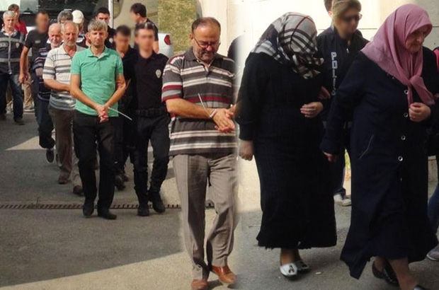 Turkish police detain 12 family members of Gulen's aide as hostage
