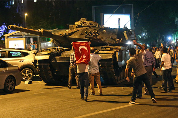 Turkey's ruling AK Party avoids parliamentary investigation into failed coup attempt