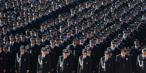 Another 95 police officers suspended in Turkey's post-coup purge
