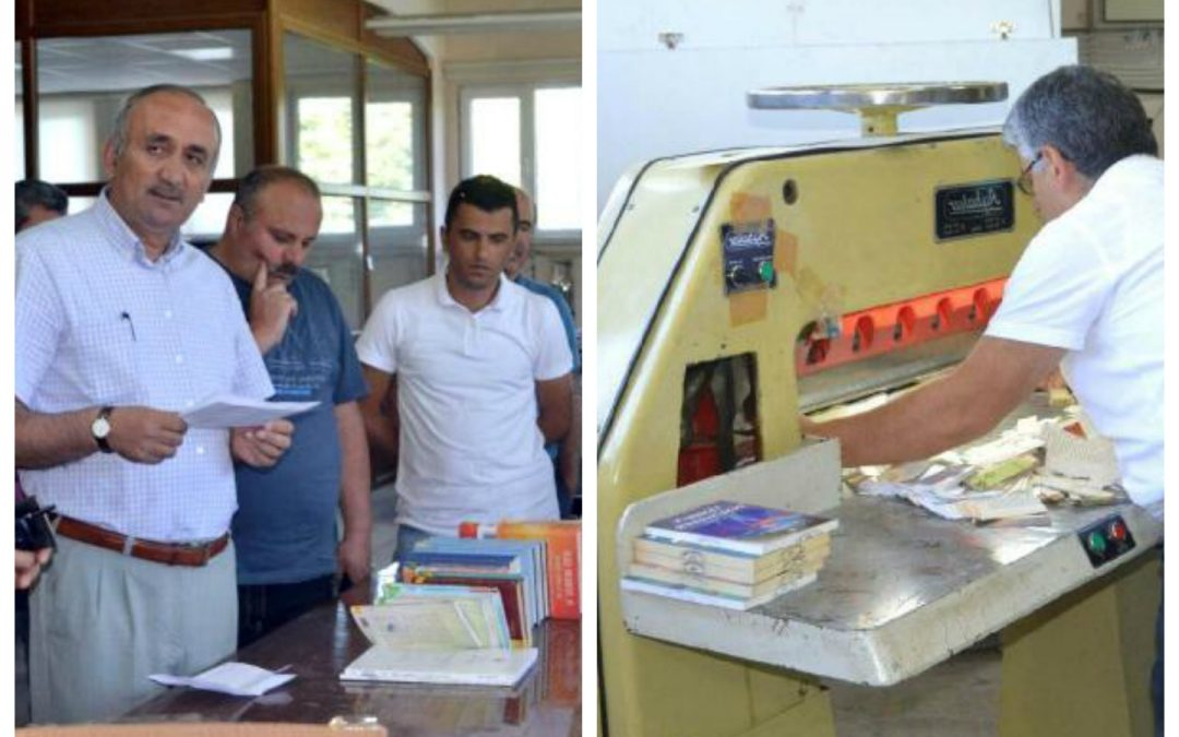 Turkish university destroys books written by Gülen, supporters