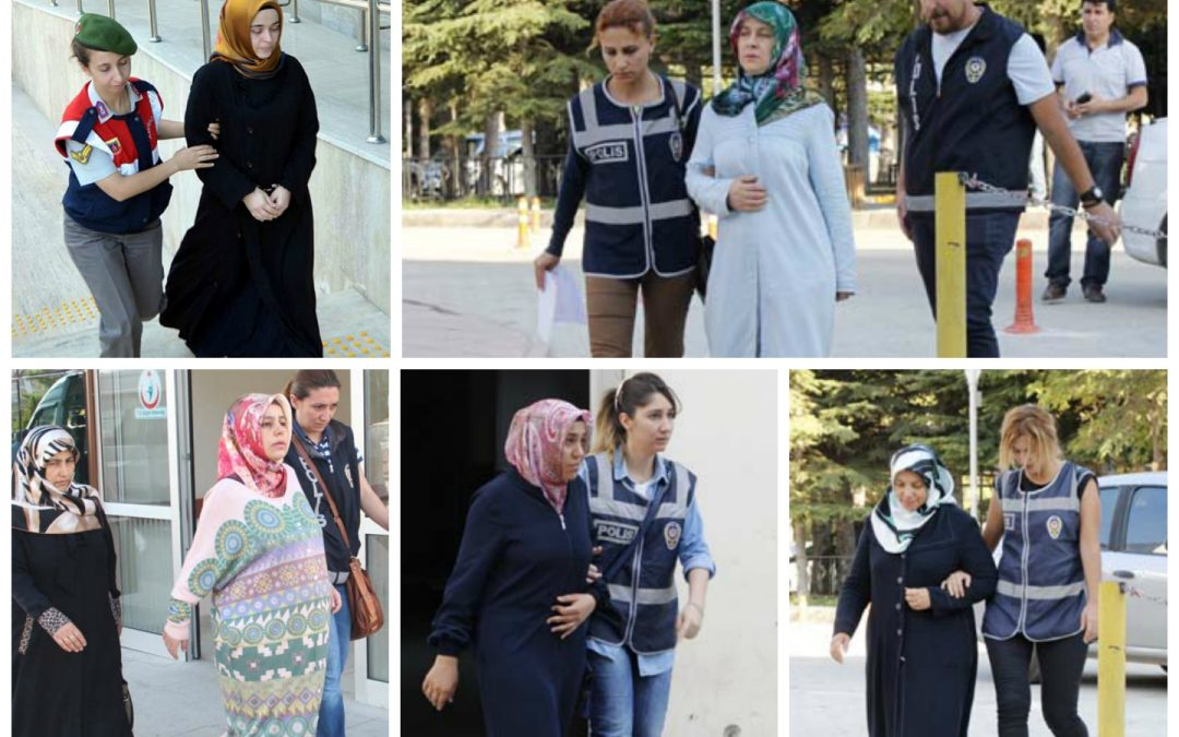 Police detain 21 in operation targeting female supporters of Gulen Movement