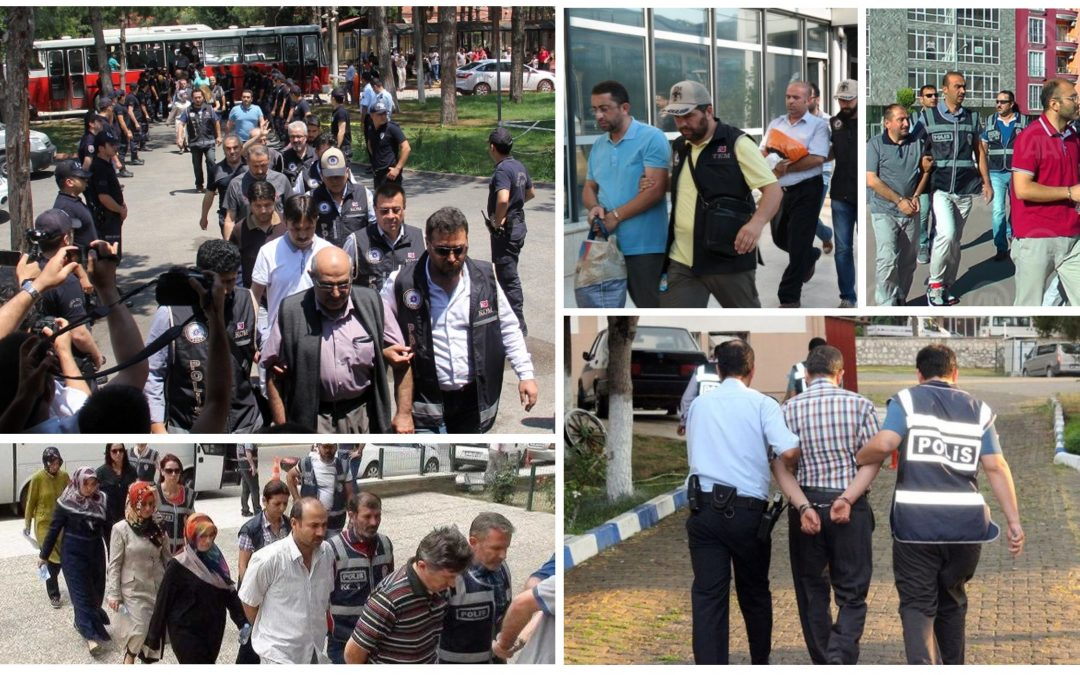 Saturday's Tally: 63 arrested, 235 others detained over coup charges