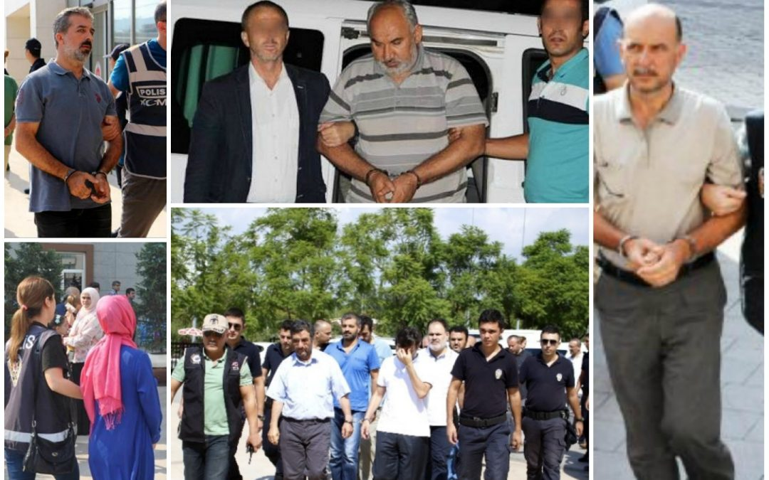 347 arrested, 339 others detained over coup links on Tuesday