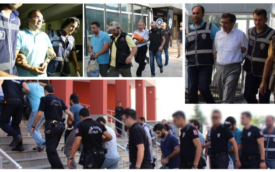 THURSDAY TALLY: 135 arrested, 308 others detained in coup probes