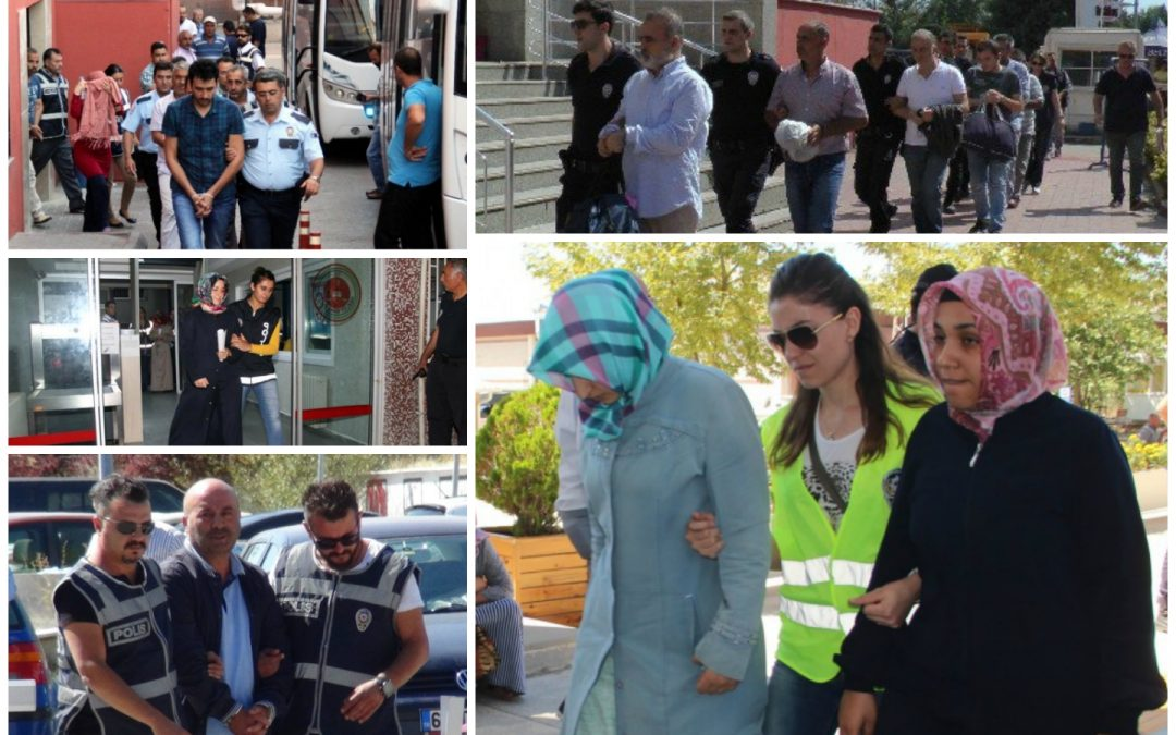 274 arrested, 104 others detained over coup charges on Friday