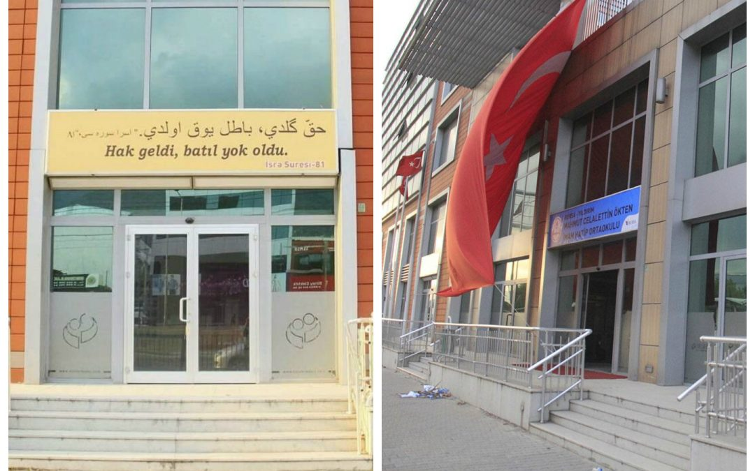 'Truth has come, and falsehood has departed,' reads Quran verse hung on Gülenist-turned-religious school