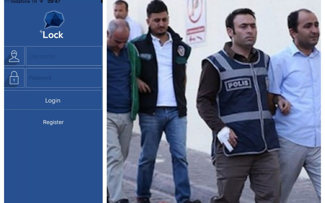 Turkey detains 25 schoolteachers over use of coup-linked mobile app