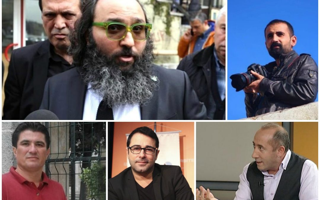 Turkey jails 5 more journalists over terrorist propaganda, coup charges