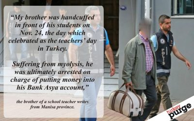 Teacher gets arrested, wife suffers miscarriage amid gov't crackdown on Gülen mov't