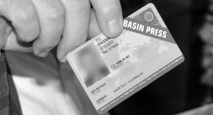 Turkish gov't cancels 115 more press cards