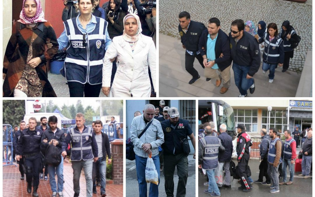 101 arrested, 83 others detained over coup charges on Wednesday
