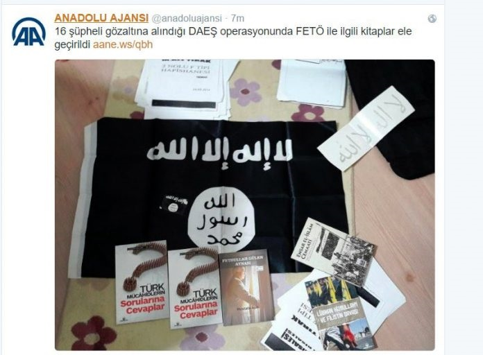 Anadolu news agency backtracks on alleged Gülen-ISIL connection