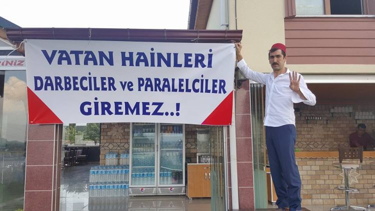 Denizli restaurant refuses to serve Gulenists
