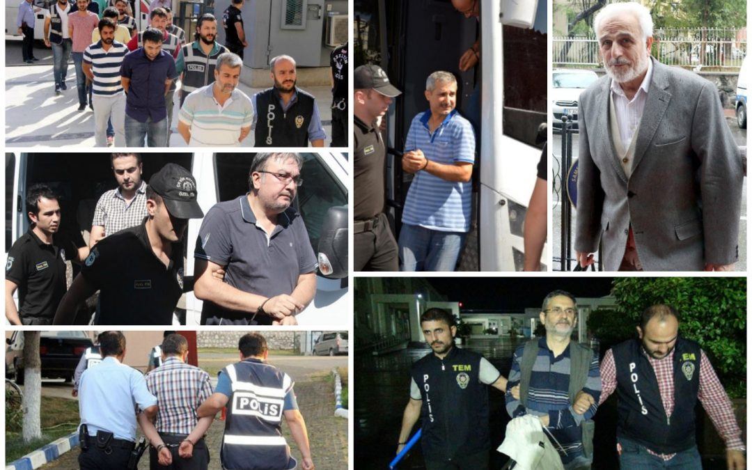 98 arrested, 219 others detained over coup charges on Friday