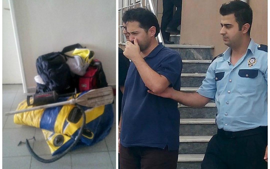 Academic, teacher caught trying to flee massive purge in Turkey