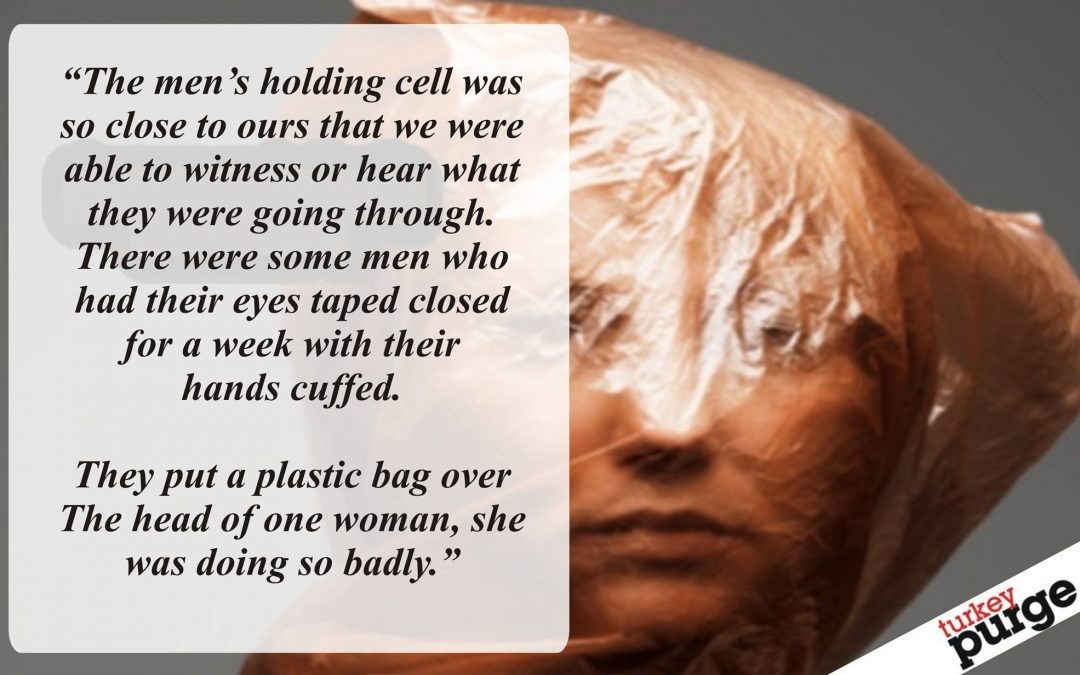 Newly released woman says detainees are tortured with plastic bags over their heads