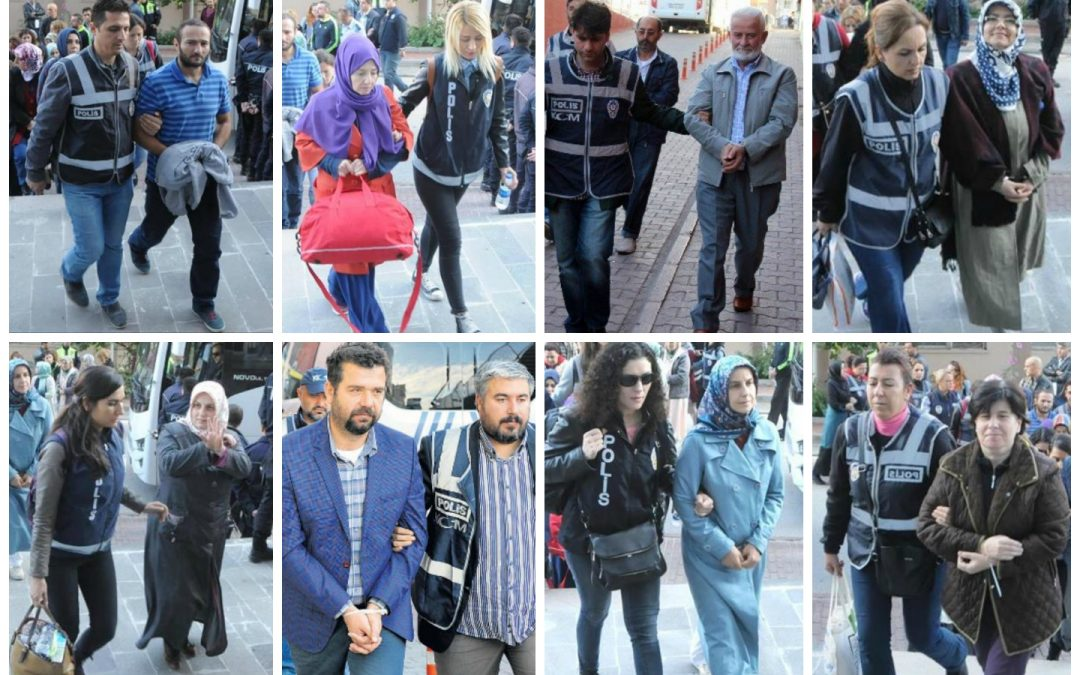 124 arrested, 357 others detained over coup charges on Thursday