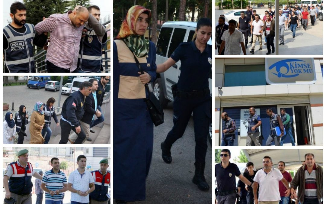 122 arrested, 278 others detained over coup charges on Tuesday