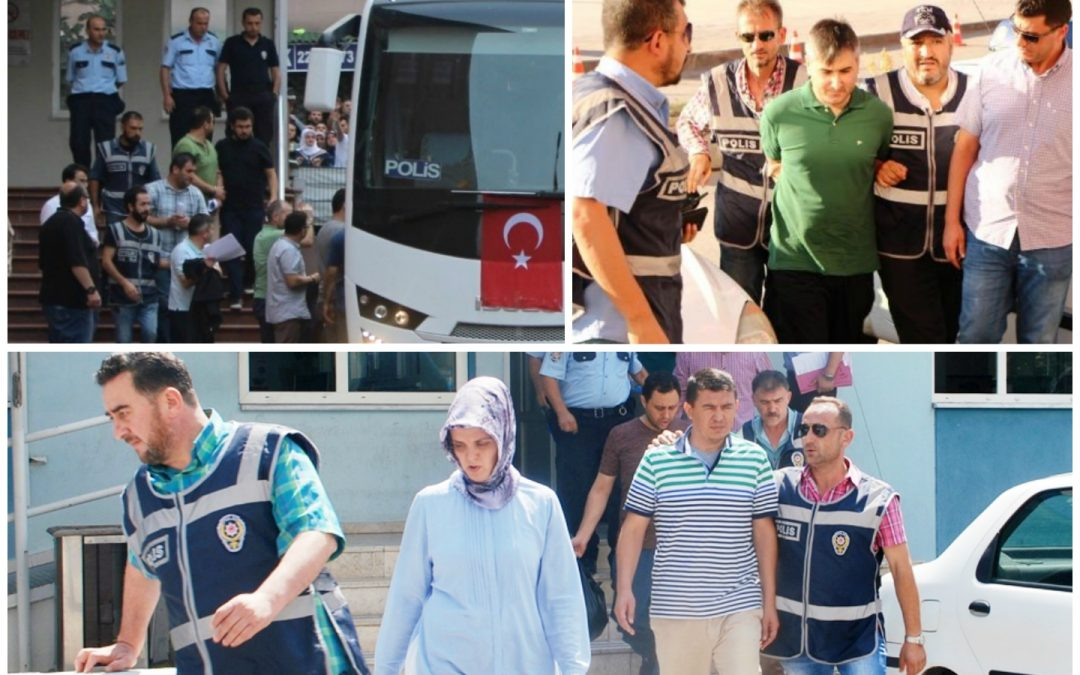 75 arrested, 55 others detained on coup charges on Sunday