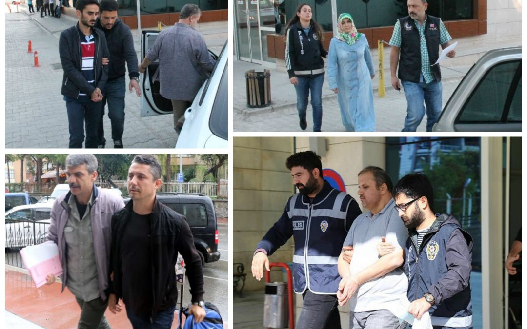 4 arrested, 104 others detained over coup charges on Sunday