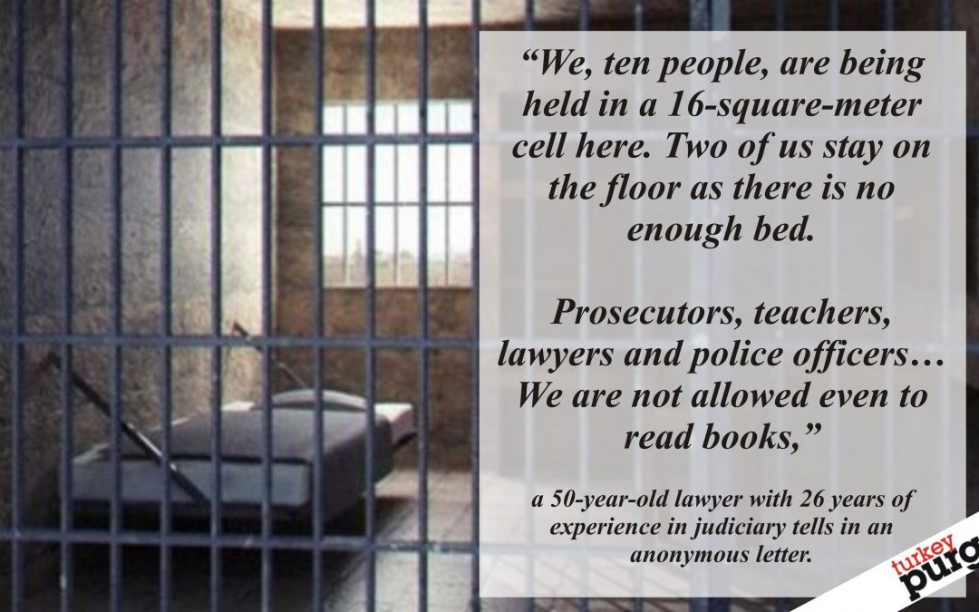 Ten prisoners stay in 16-square-meter custody cell, arrested lawyer says