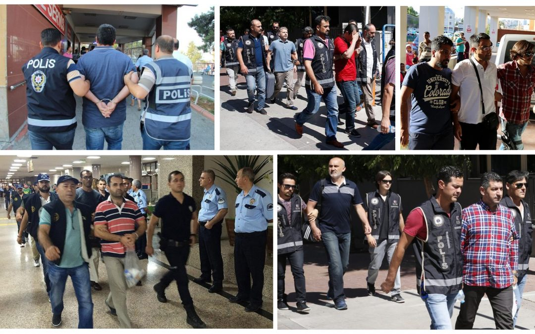 THURSDAY'S TALLY: 200 arrested, 139 detained over coup charges