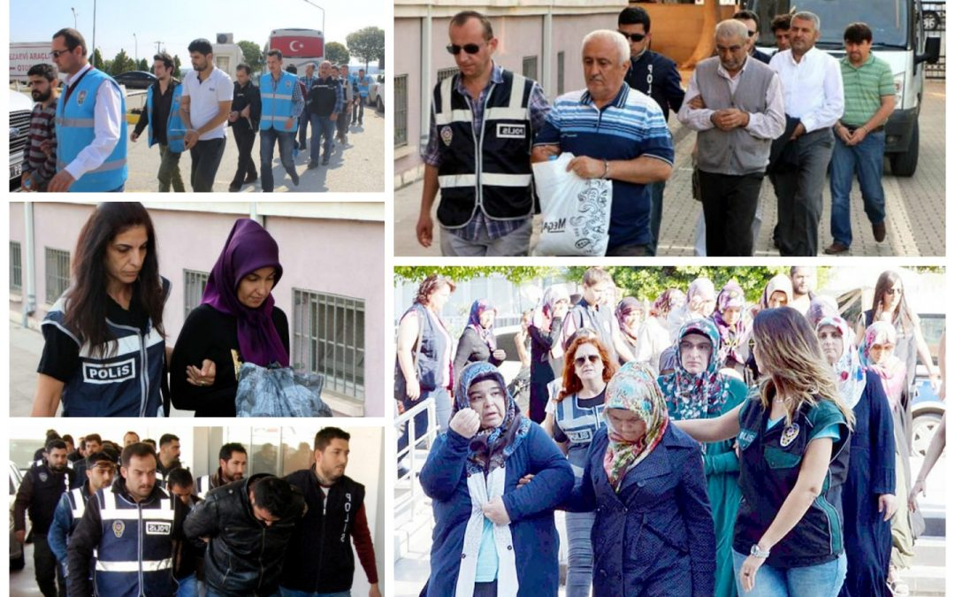 89 arrested, 164 others detained over coup charges on Saturday