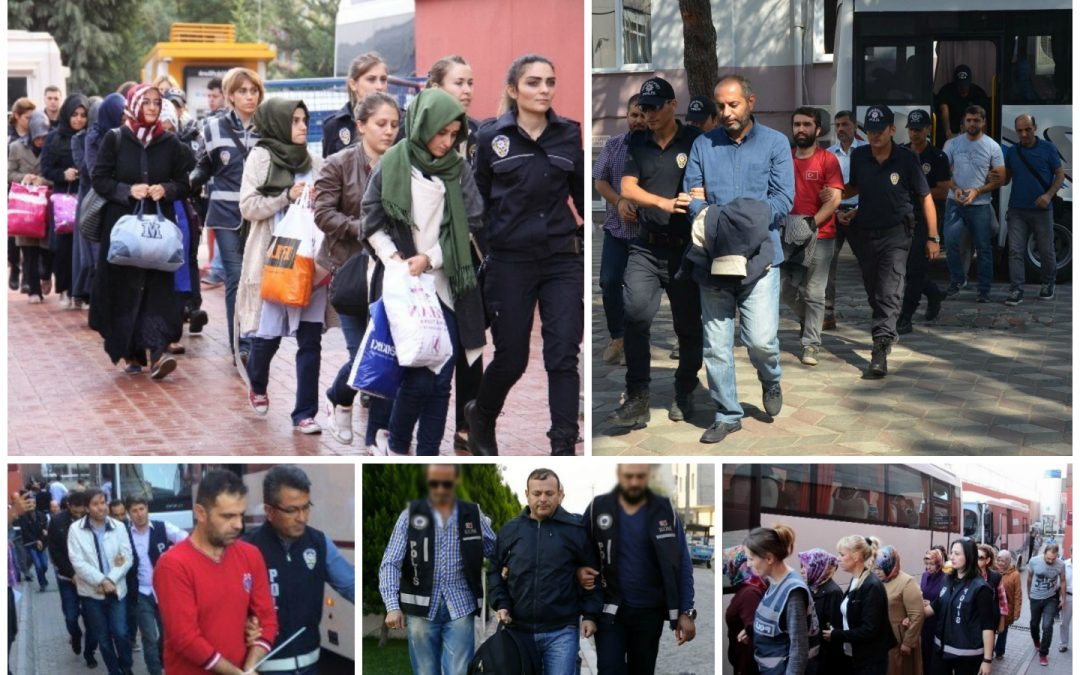 540 suspended, 93 arrested, 172 detained over coup charges on Wednesday