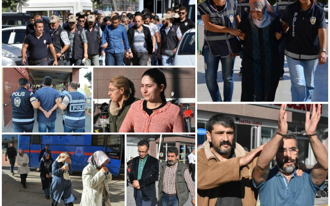 146 arrested, 233 others detained over coup charges on Friday