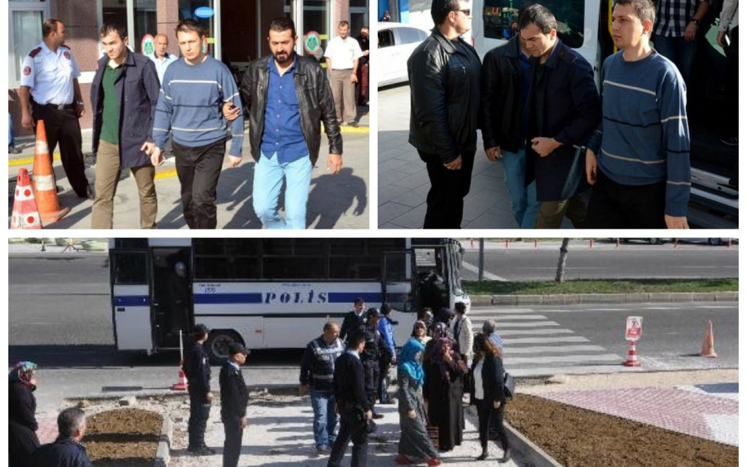 12 arrested, 127 others detained over coup charges on Sunday