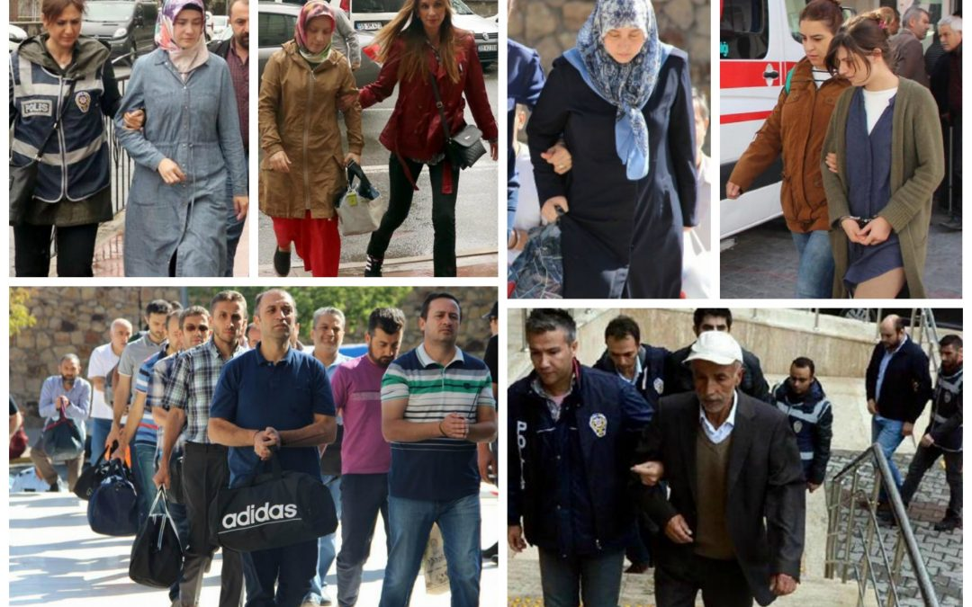 76 arrested, 128 others detained over coup charges on Monday