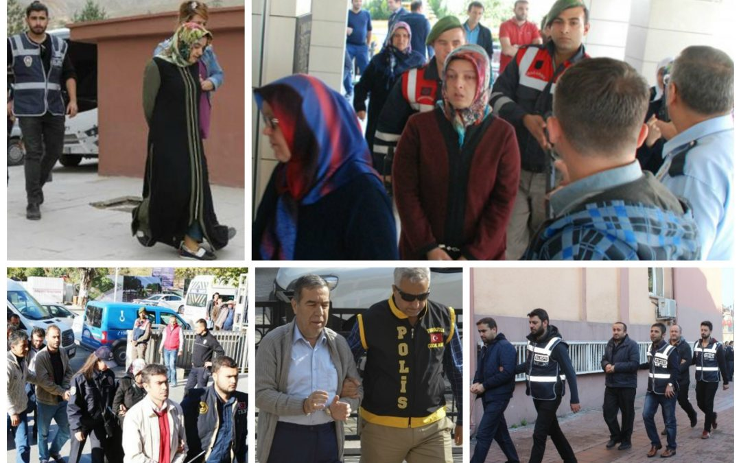 170 arrested, 28 detained over coup charges on Saturday