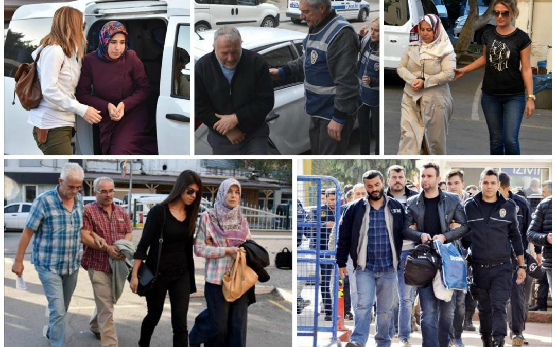 300 sacked, 129 arrested, 230 detained over coup charges on Wednesday