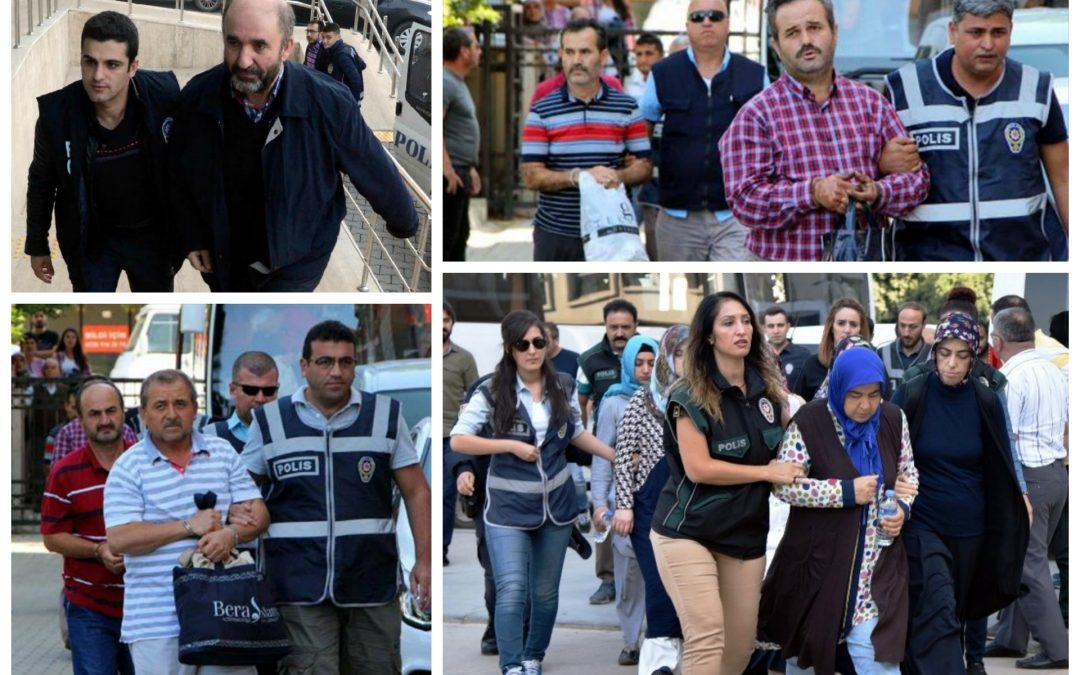 199 arrested, 150 others detained over coup charges on Friday