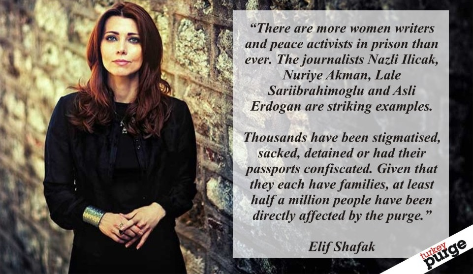 Elif Shafak: Following a post-coup crackdown, Turks have never been so scared of words