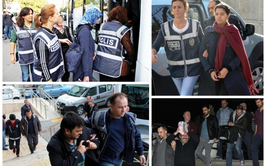 183 arrested, 49 others detained over coup charges on Saturday