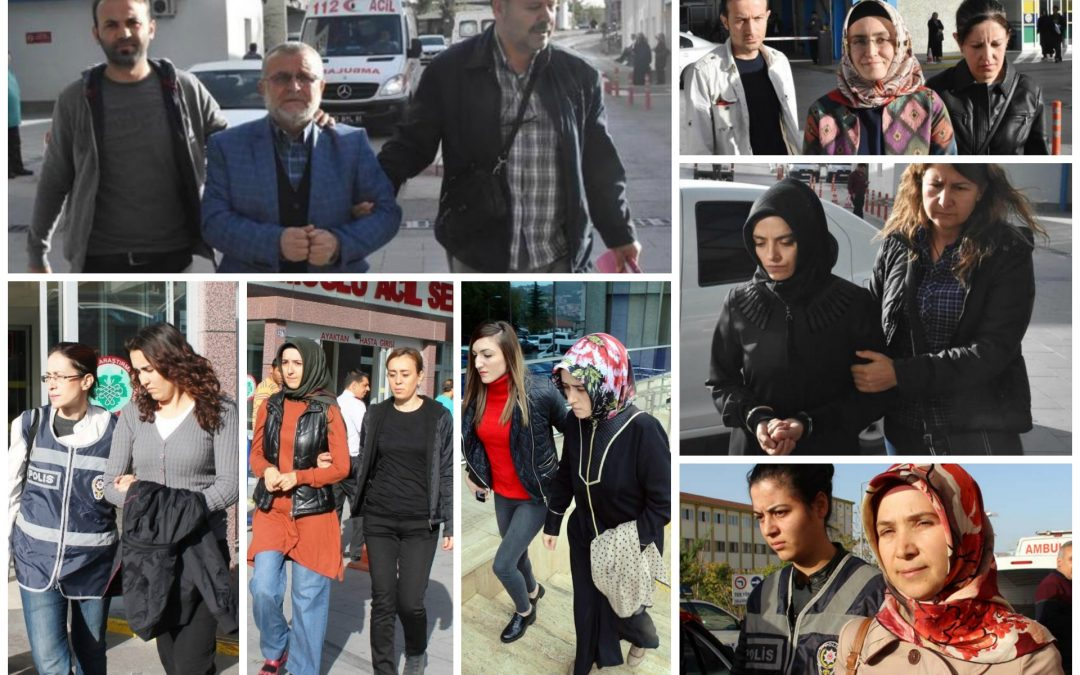 2584 suspended, 109 sacked, 149 arrested, 213 others detained over coup charges on Thursday