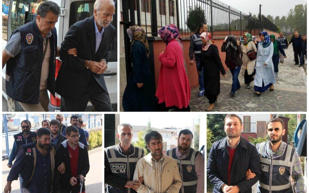 13K suspended, 44 arrested, 93 others detained over coup charges on Monday.