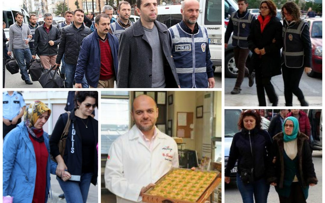 460 dismissed, 110 arrested, 196 detained over coup charges on Friday