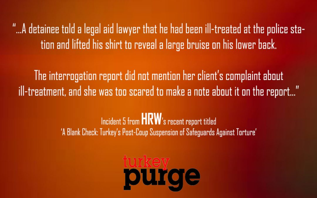 Human Rights Watch: Police dismiss torture allegations, claim that detainee injured at coup night