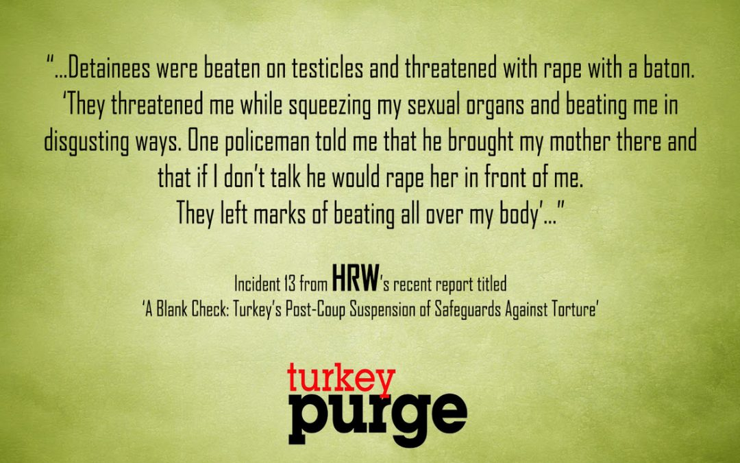 Human Rights Watch: Police strip detainees naked, beat them in testicles with baton