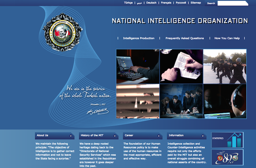 At gov't urging, Turkey's intel service sees record informants on Gülenists