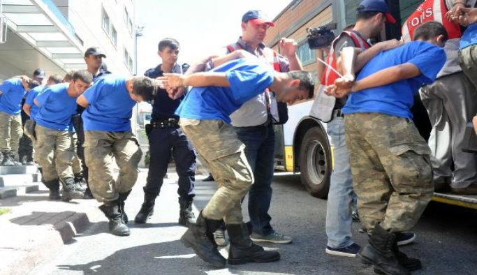 55 military, intelligence personnel detained on coup charges
