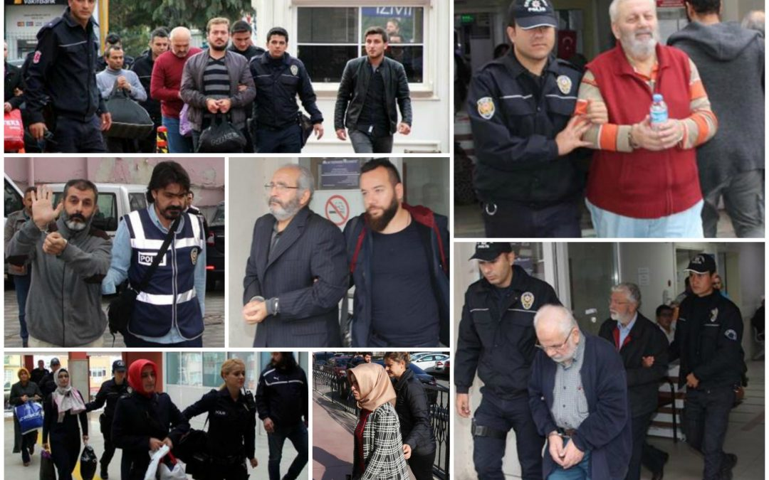 77 arrested, 135 others detained over coup charges on Monday