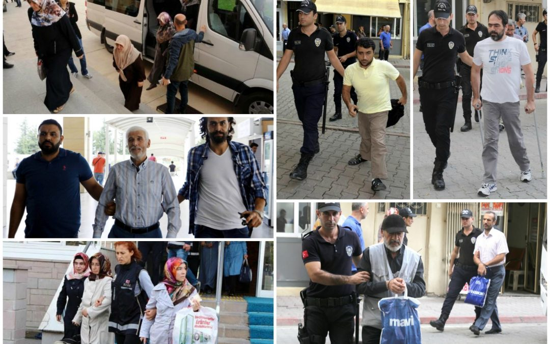 172 arrested, 276 others detained over coup charges on Wednesday