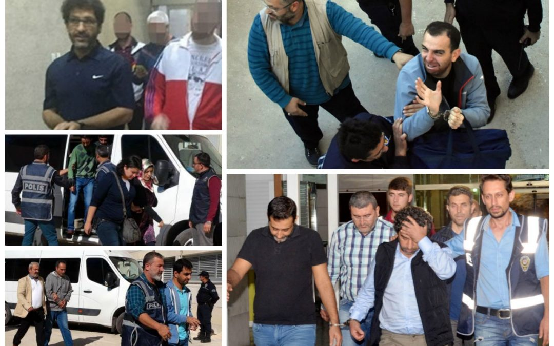 109 arrested, 254 others detained over coup charges on Tuesday