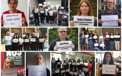 IFJ launches global campaign in solidarity of jailed Turkish journalists