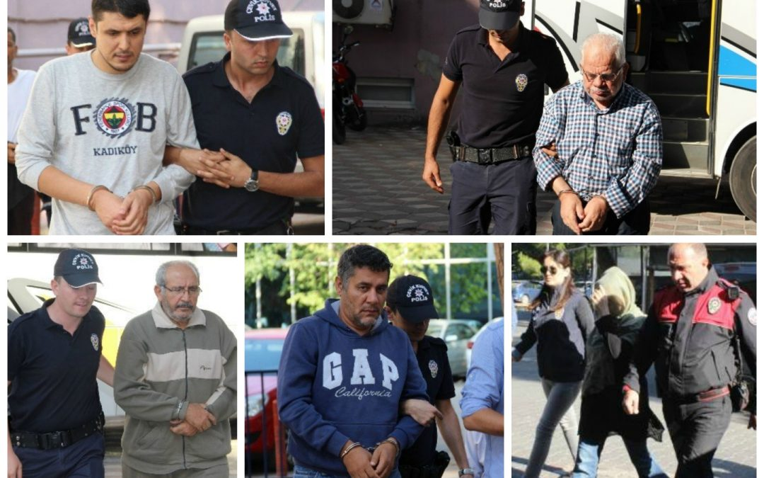 74 arrested, 147 others detained over coup charges on Saturday