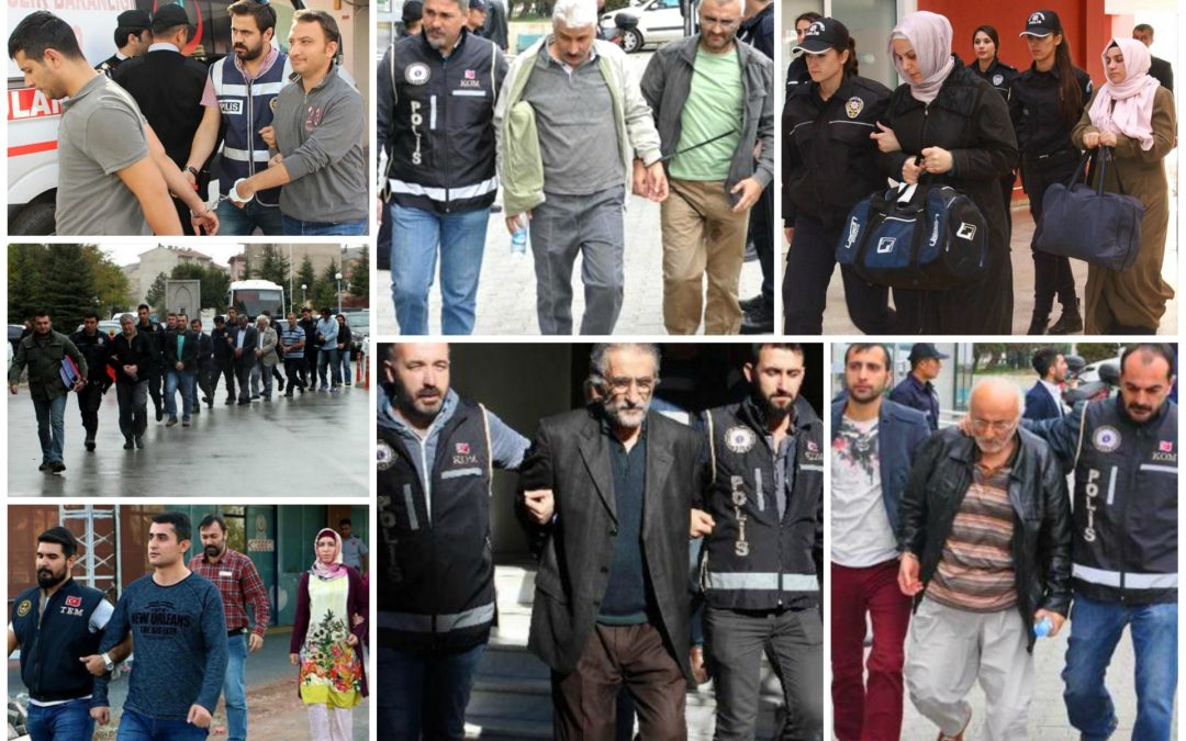 204 arrested, 302 others detained over coup charges on Tuesday