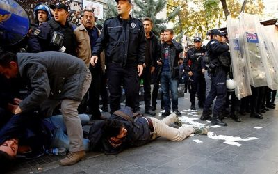 VIDEO: Police chief says don't hesitate to shoot Kurdish protesters